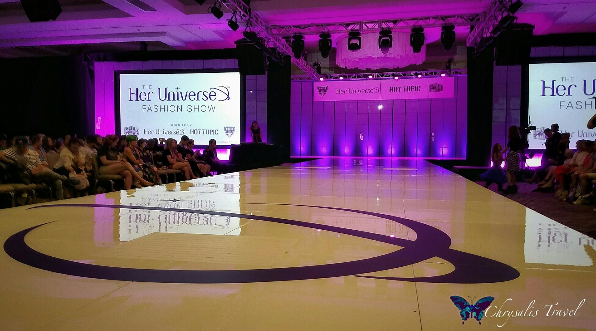 Her Universe Fashion Show Runway 2016