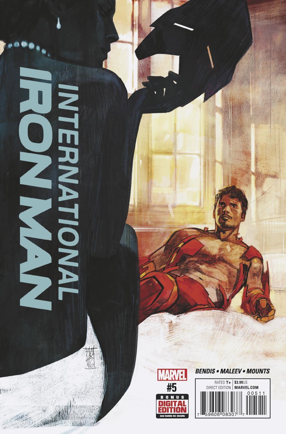 Tony Stark Meets His Mother in International Iron Man #5