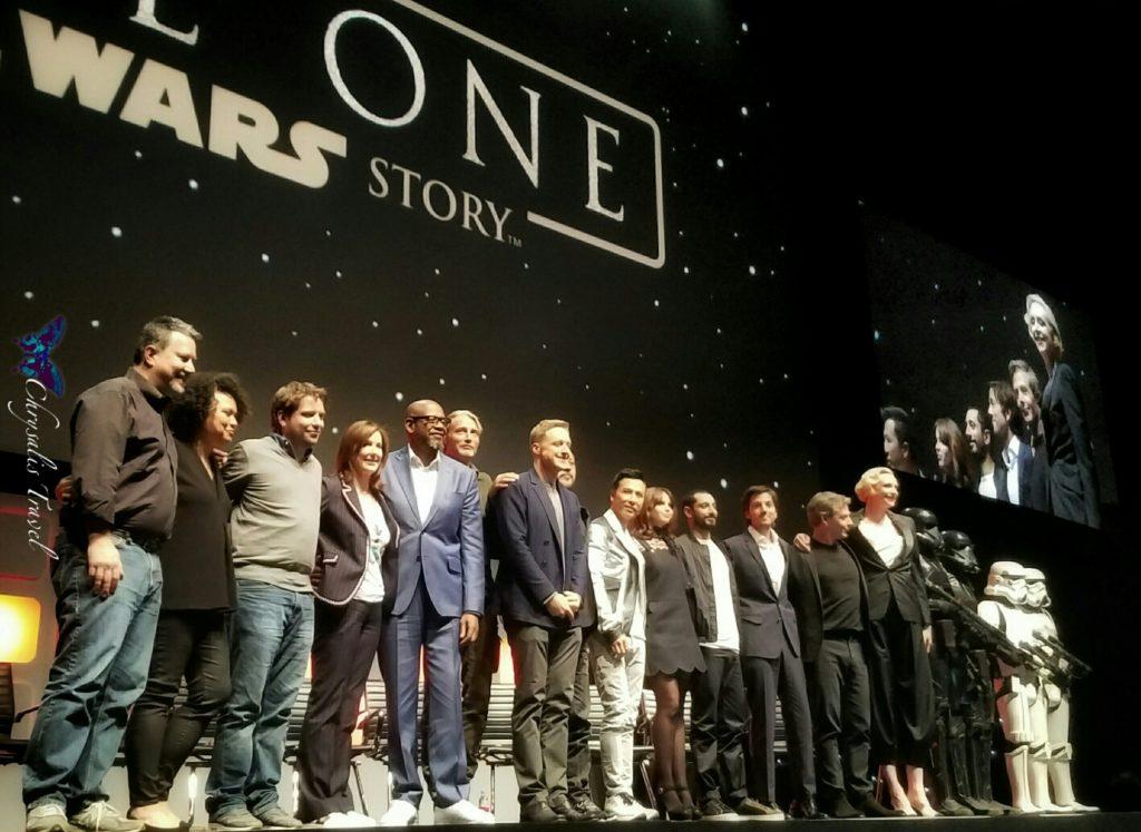 Rogue One Cast Finale