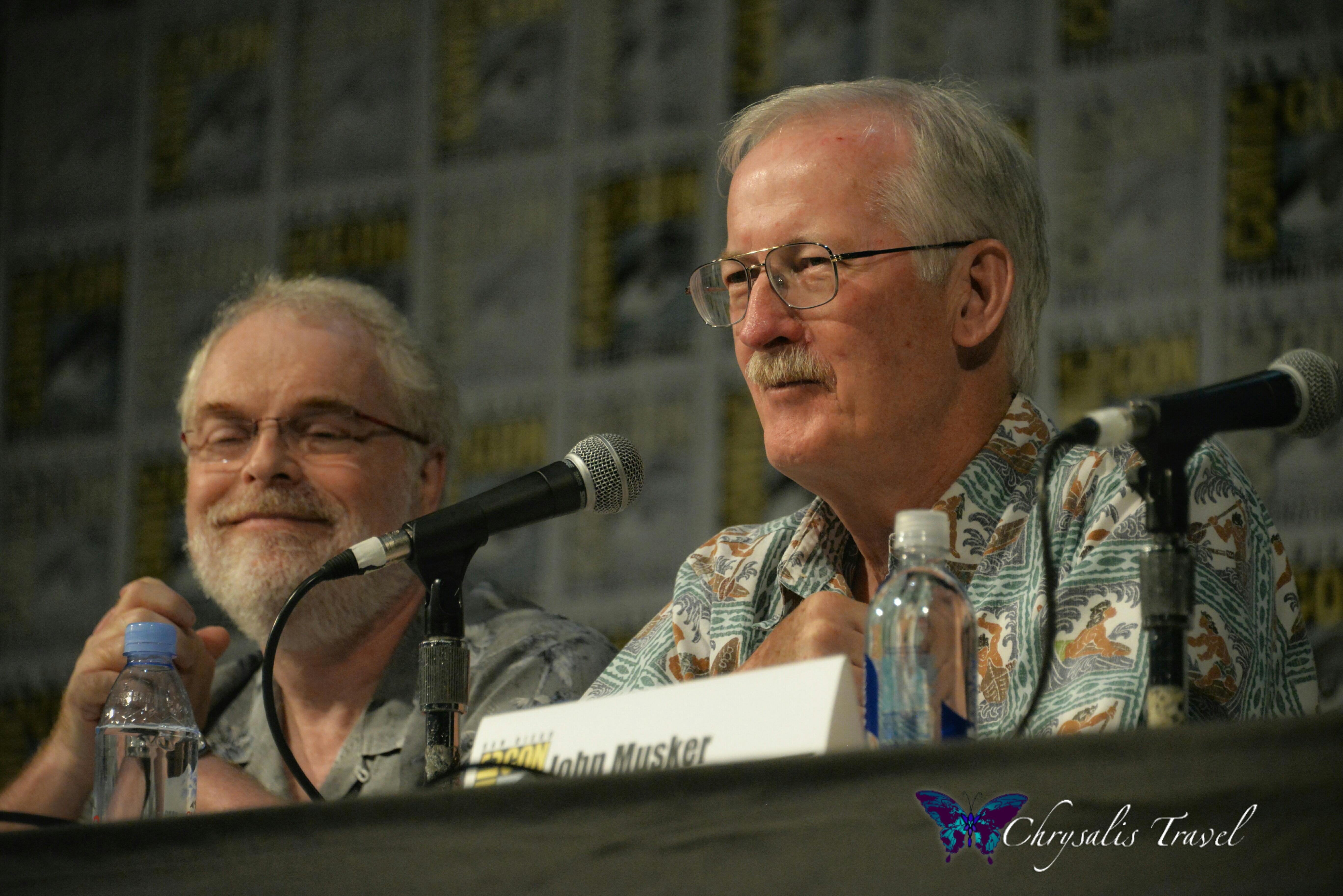 Ron and John Moana Panel