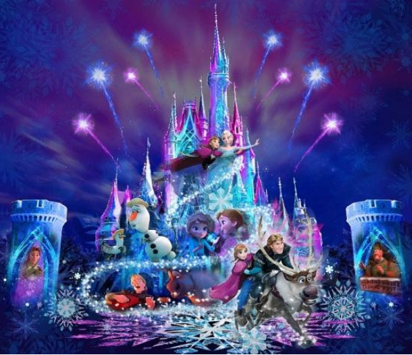 """Tokyo Disneyland Announces Limited """"Frozen Forever"""" Nighttime Show"""