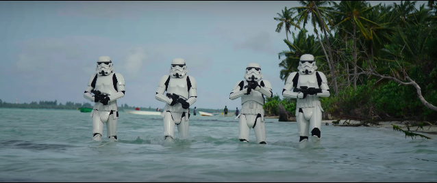 """""""Rogue One"""" Trailer Review: Behind the Scenes & Plenty of Peeks"""