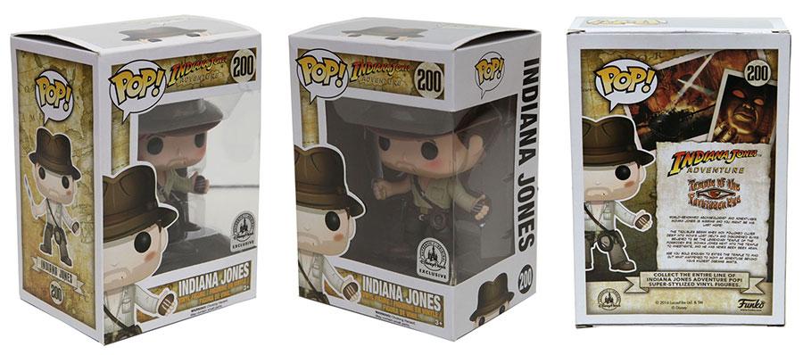 An Exclusive Indiana Jones Pop! Figure is Coming to Disney Parks