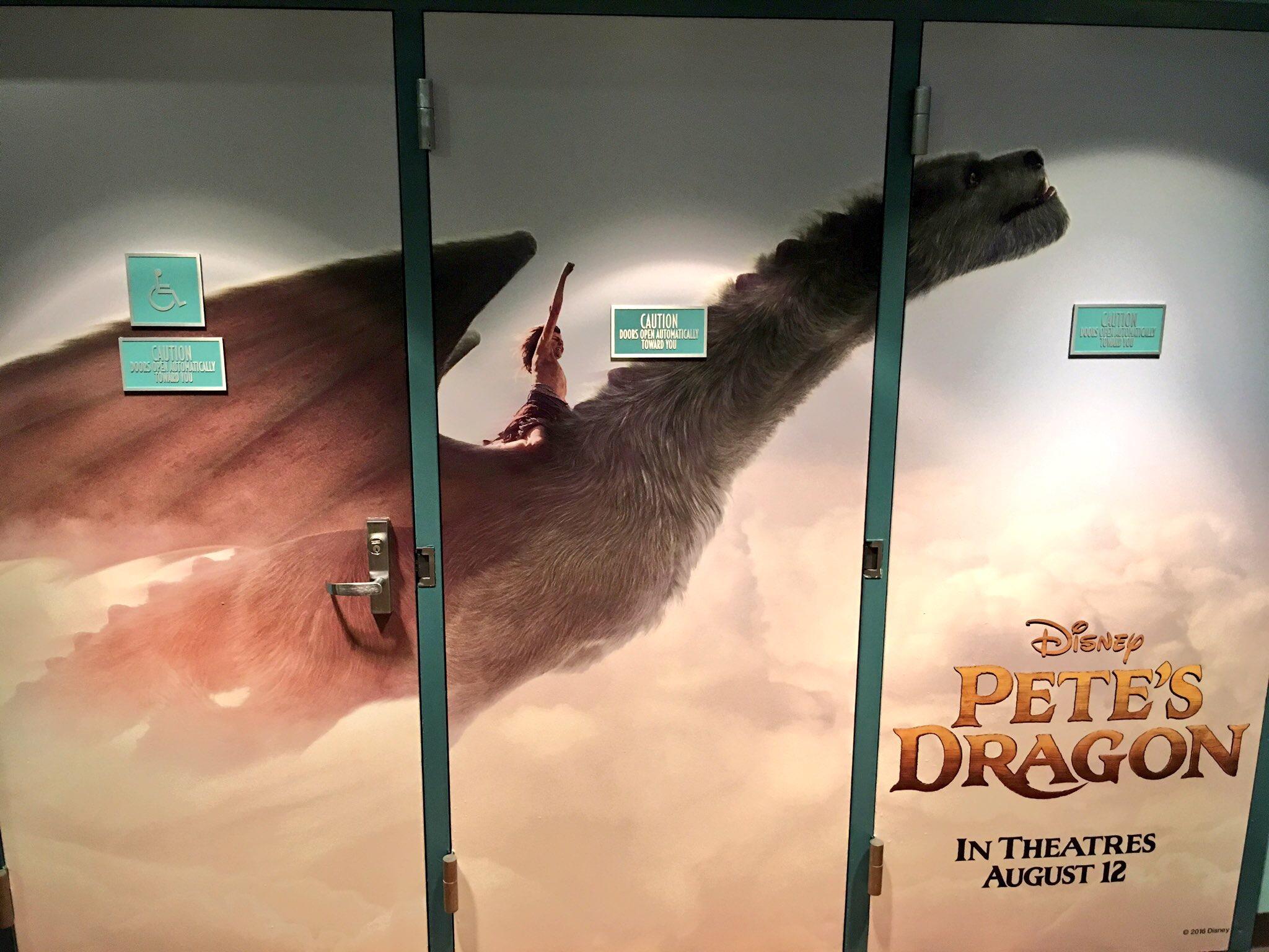 """Pete's Dragon"" Preview Soars Into Disney Parks"