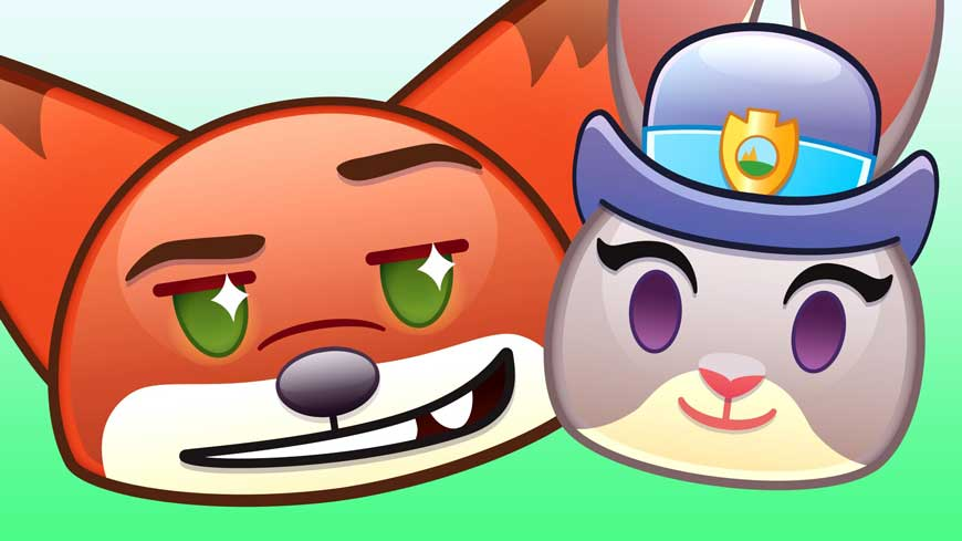 """""""As Told by Emoji"""" Series Goes Wild(e) with """"Zootopia"""""""