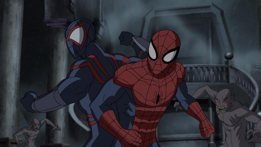 THE BLOOD SPIDER, SPIDER-MAN