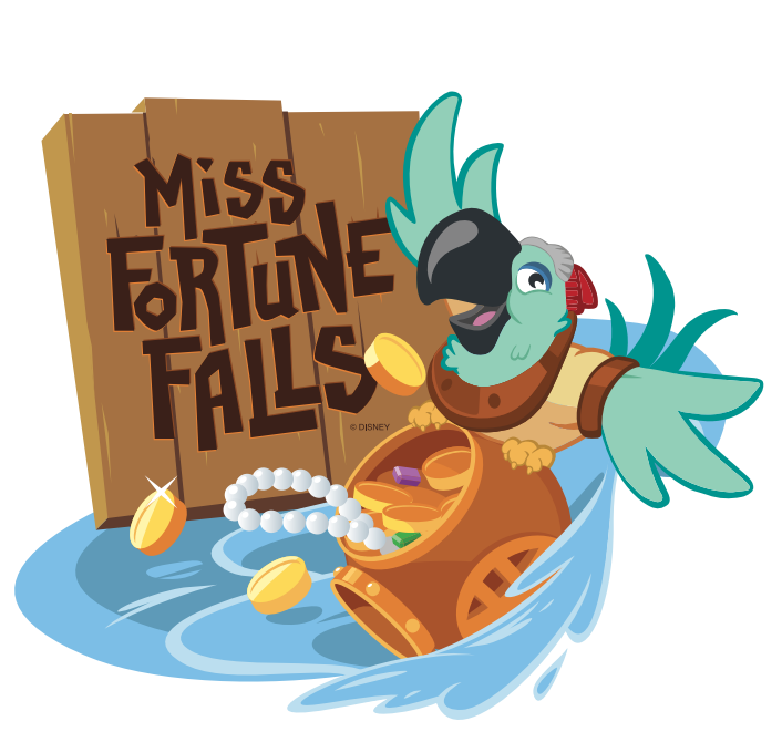Miss Fortune Falls Attraction Coming to Typhoon Lagoon; To Be Lengthiest Ride at Disney Water Park
