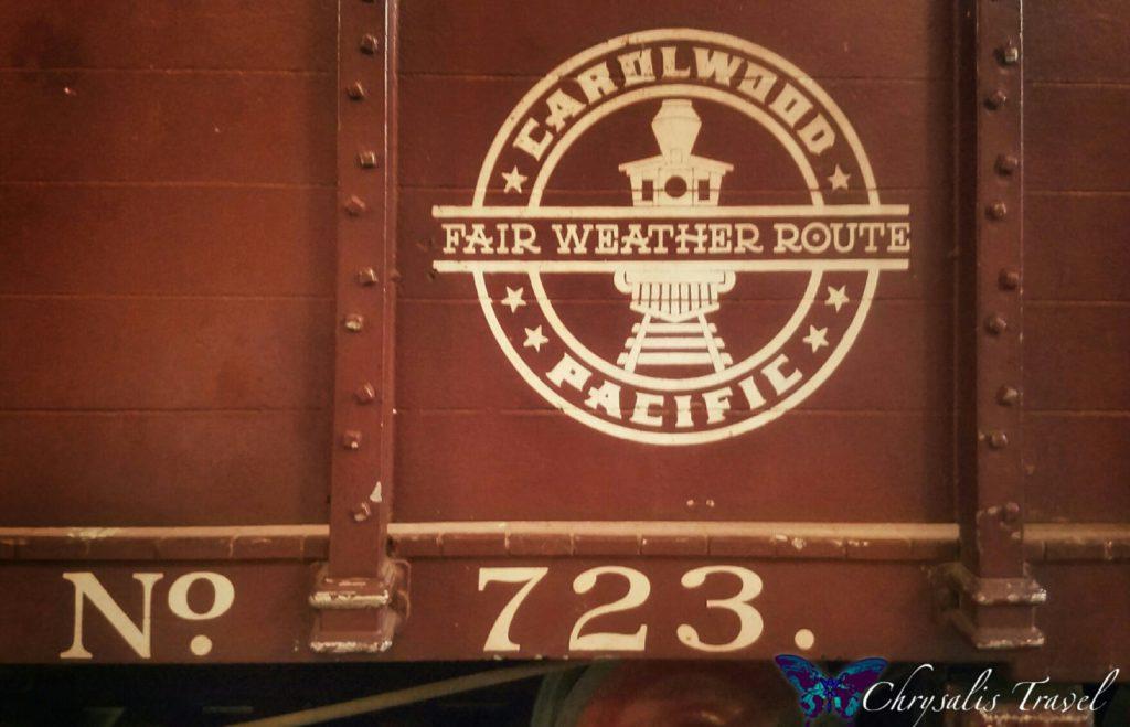 Carolwood Pacific car