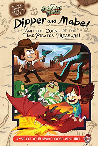 Book Review - Gravity Falls: Dipper and Mabel and the Curse of the Time Pirates Treasure!