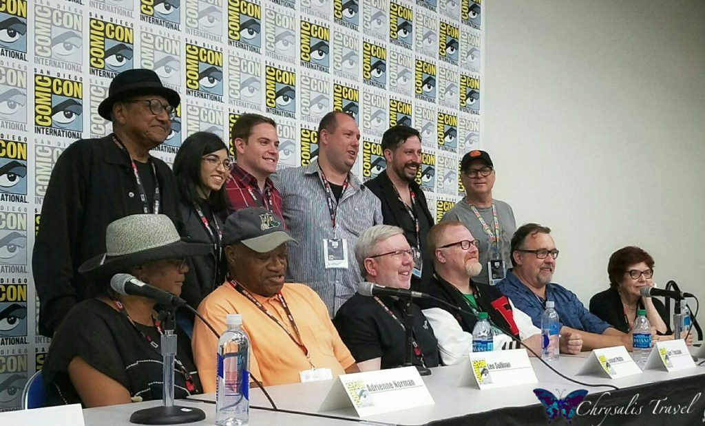 Floyd Norman Panel Angle SDCC