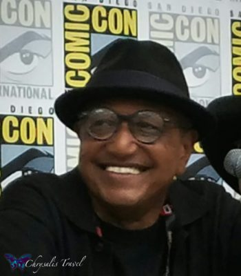 Floyd Norman closeup SDCC