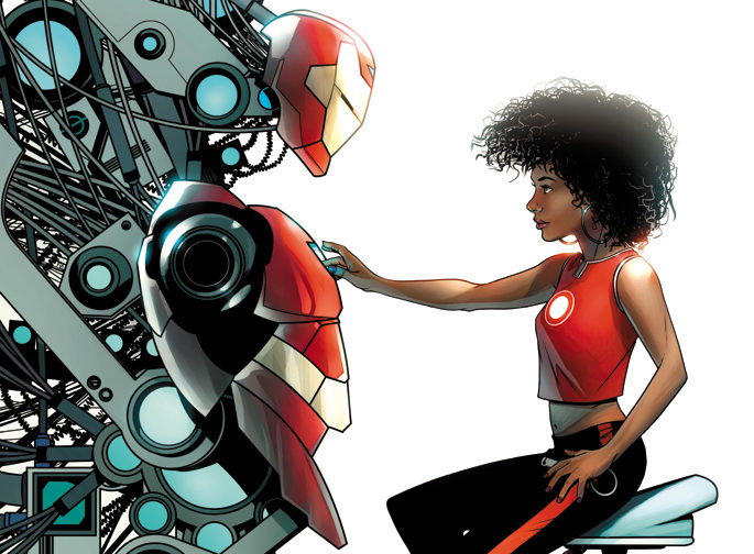 """Iron Man's Comic Book Replacement to Go By """"Ironheart"""""""