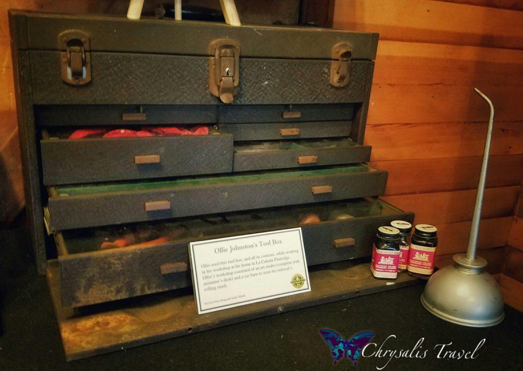 Ollie Johnston's Tool Box