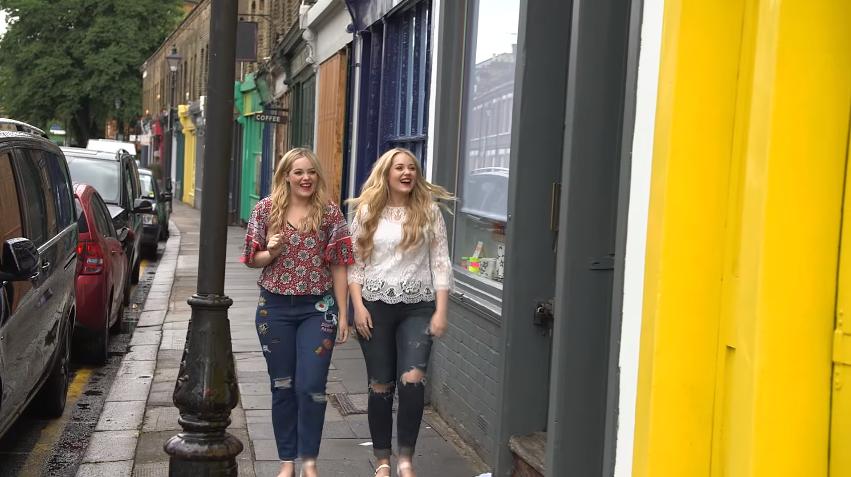 "Lucy and Lydia U.K. Disney Fashion in Latest ""Destination: Disney Style"" Video"