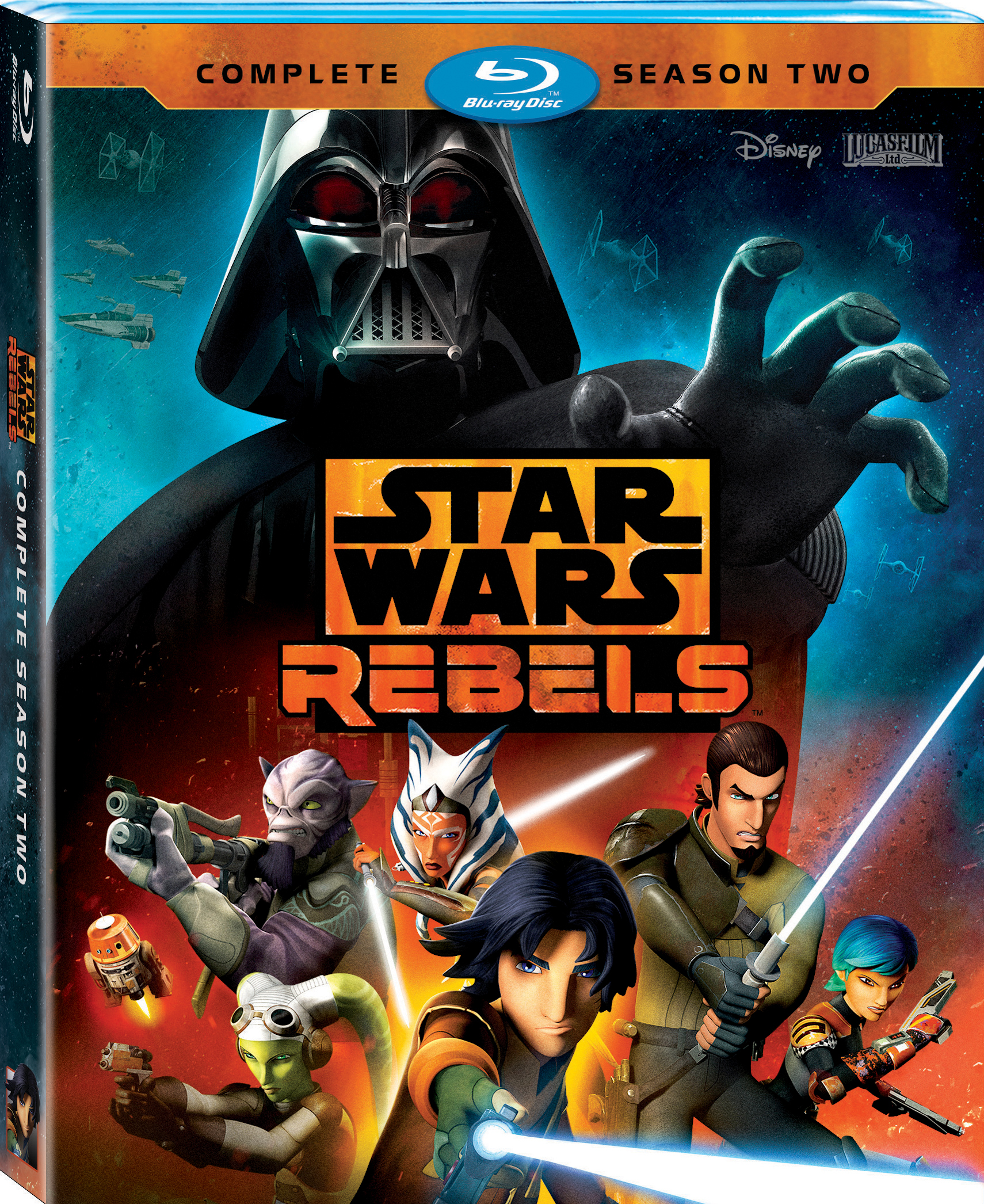Blu-Ray Review: Star Wars Rebels Complete Season Two
