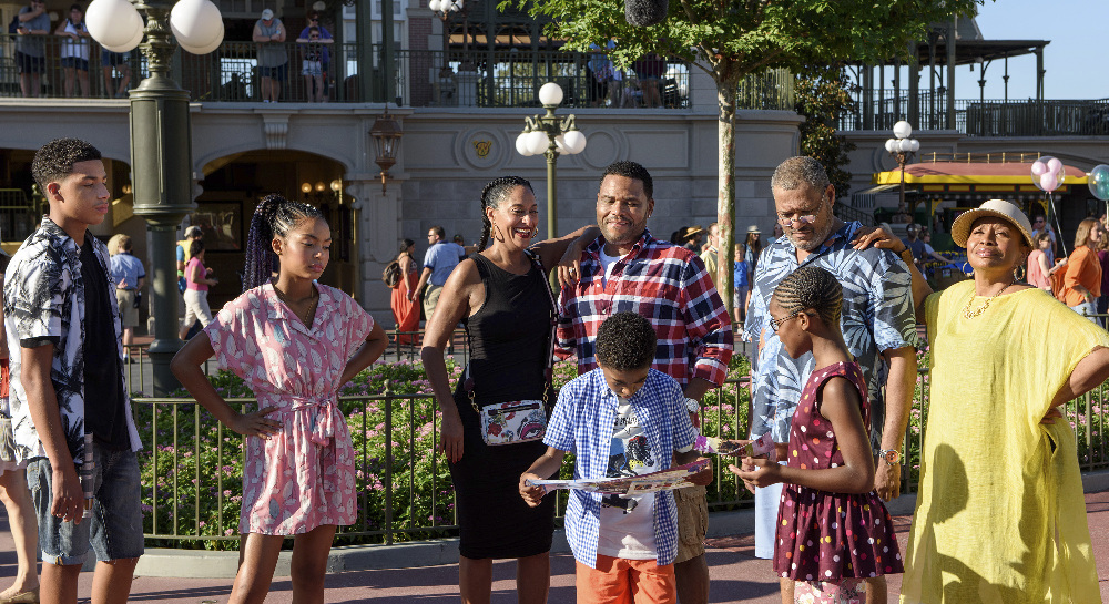 ABC Release Images of Black-ish's Visit to Walt Disney World