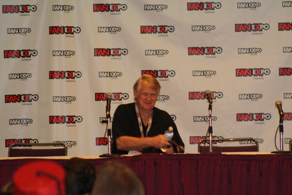 Bill Farmer at the Panel