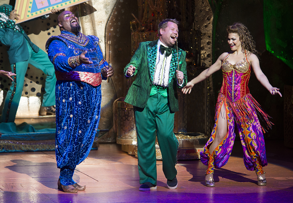 """James Corden Makes a Cameo in Broadway's """"Aladdin"""""""