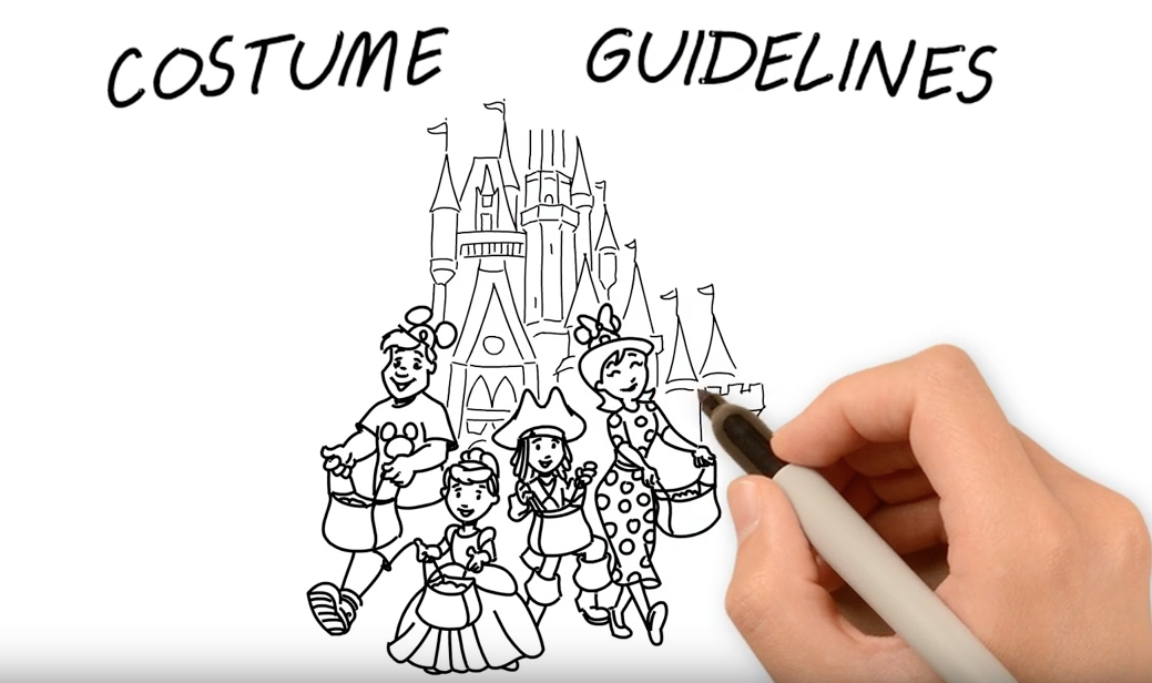 Disney Releases Video Highlighting Theme Park and runDisney Costume Guidelines