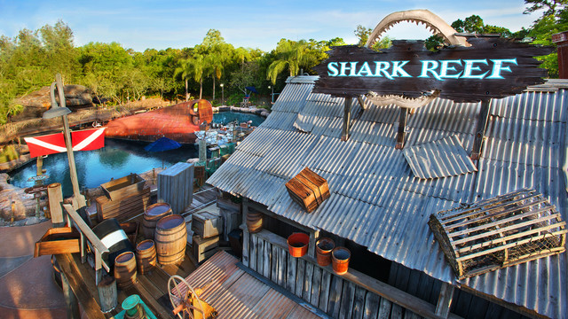 Shark Reef at Typhoon Lagoon Set to Close