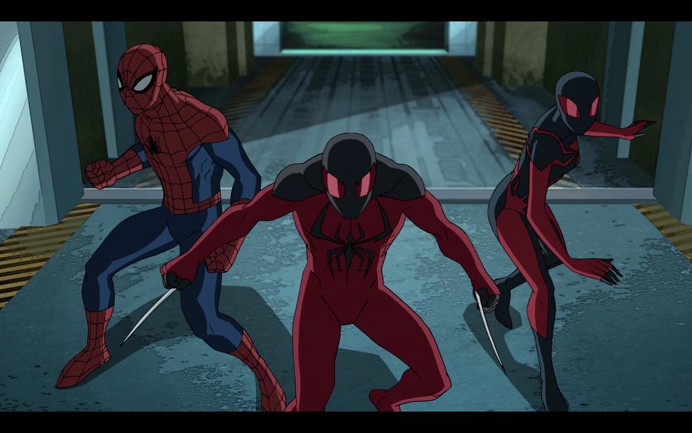 SPIDER-MAN, SCARLET SPIDER, ULTIMATE SPIDER-WOMAN