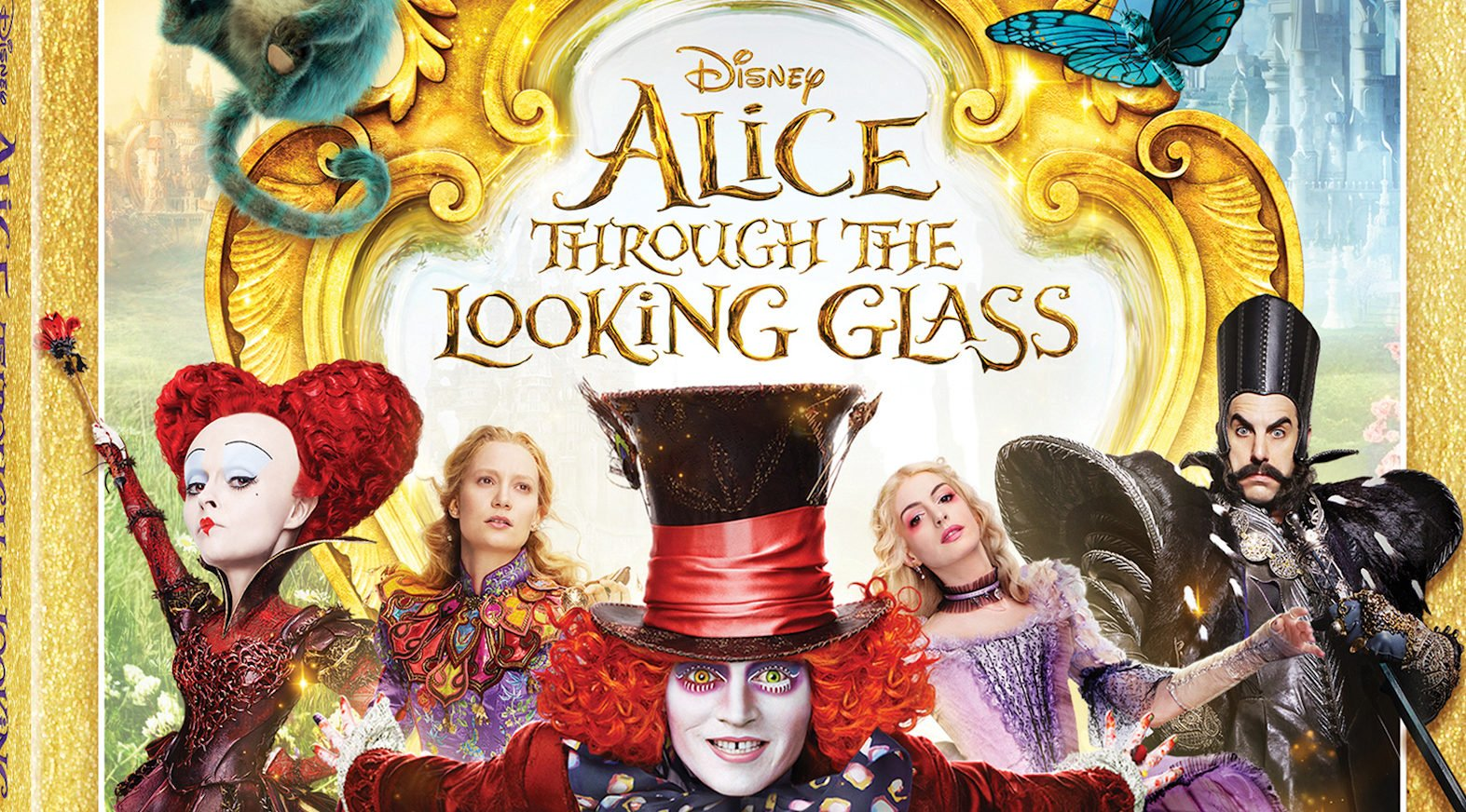 """Blu-Ray/DVD Review: """"Alice Through the Looking Glass"""""""