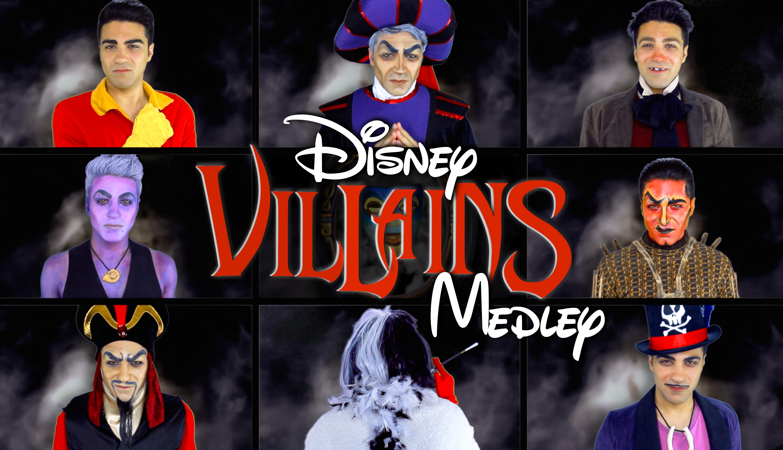 Halloween Disney Villains.Celebrate Halloween With This Disney Villains Medley Video
