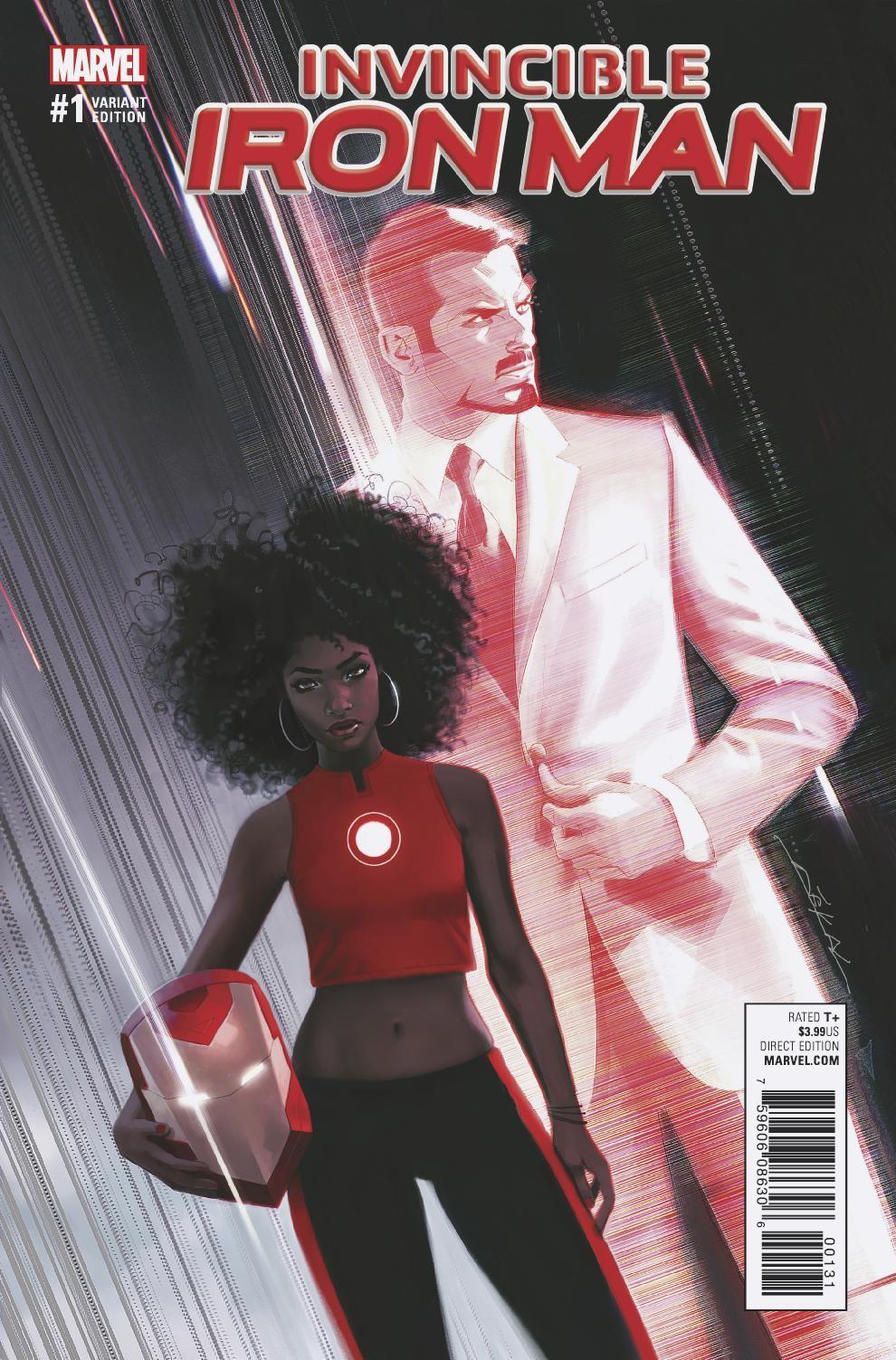 Marvel Previews Riri Williams as Invincible Iron Man