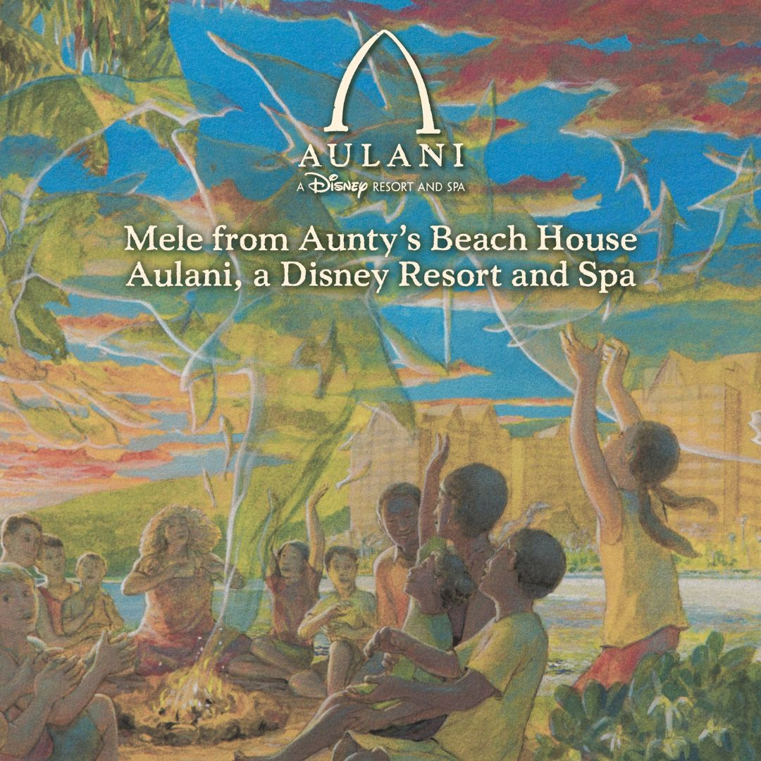 Album Review - Mele from Aunty's Beach House Aulani, A Disney Resort and Spa