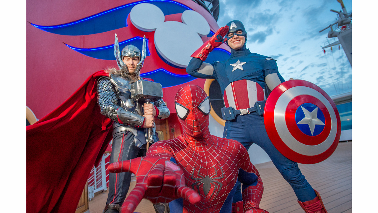 Marvel Day at Sea to Set Sail on Disney Cruise Line Next Fall