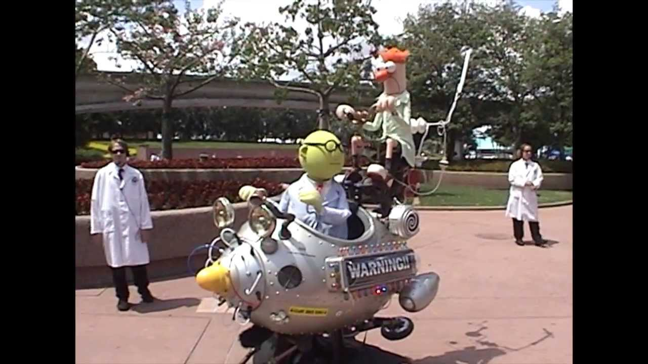 Muppet Mobile Lab Set to Return to Epcot