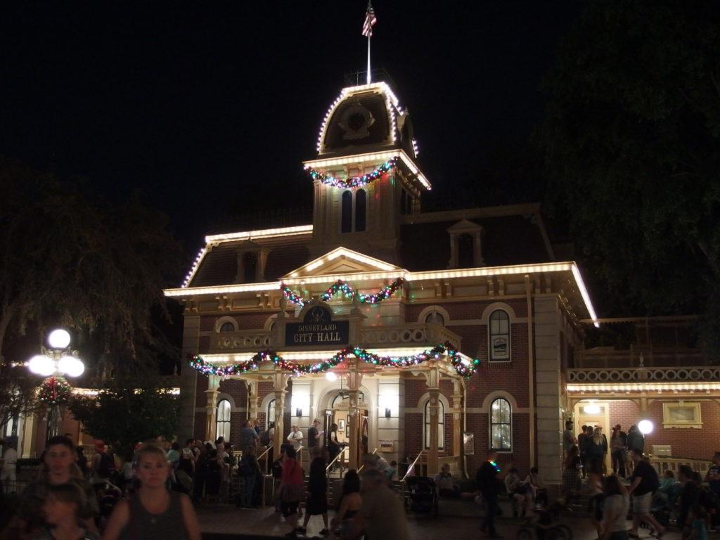 Decorations adorn City Hall