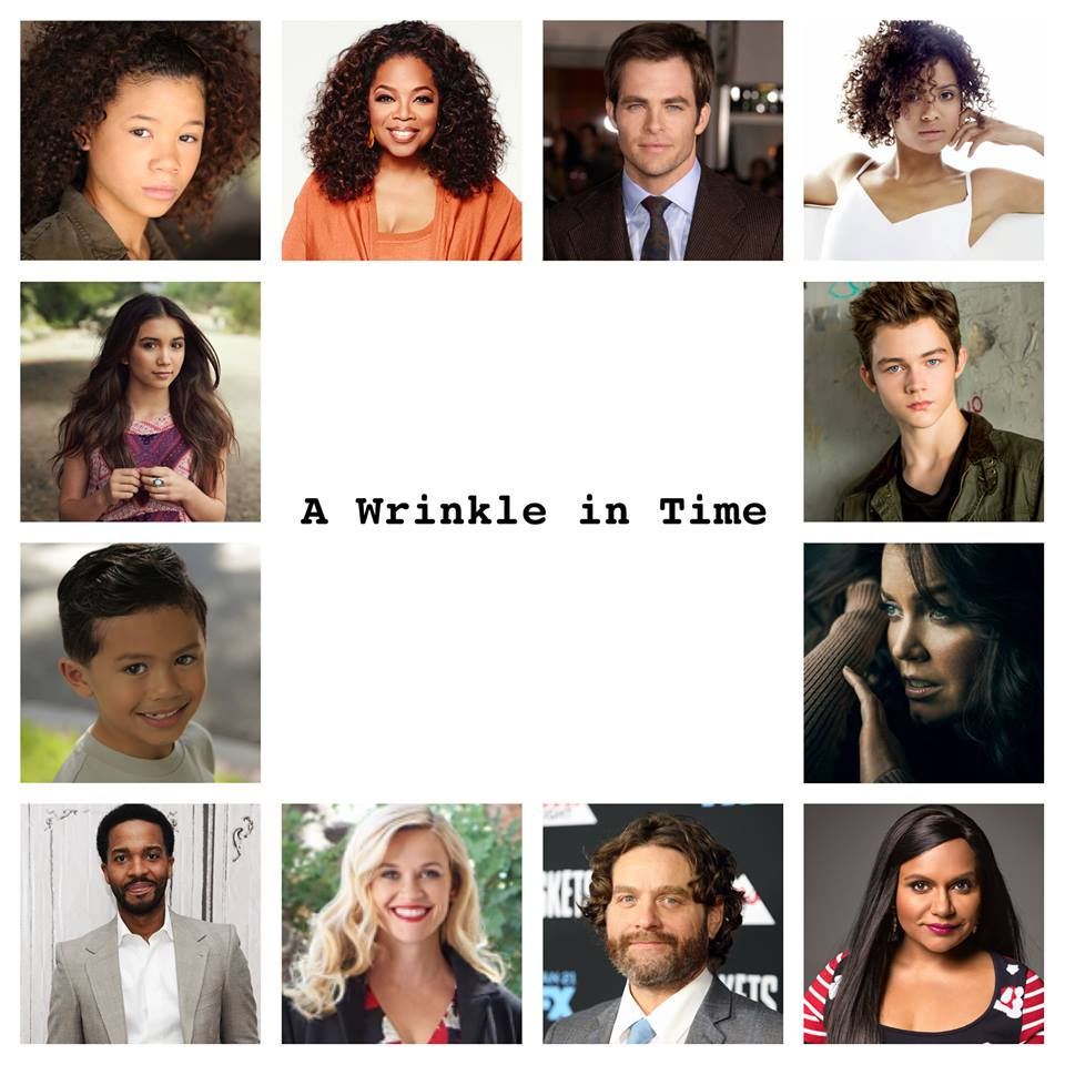 "Disney's ""A Wrinkle in Time"" to Start Production Tomorrow"