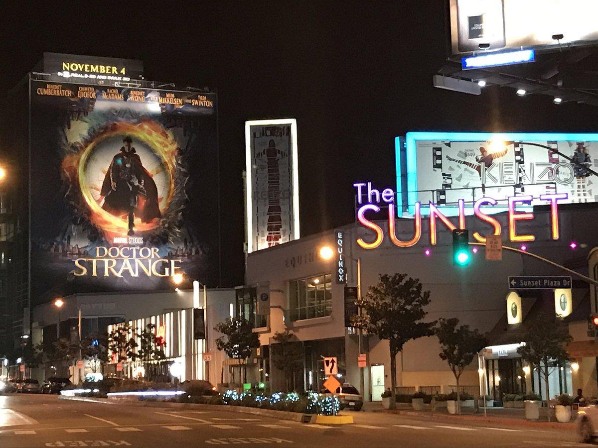 Sunset Blvd Gets Strange with Unique Promotion for Doctor Strange