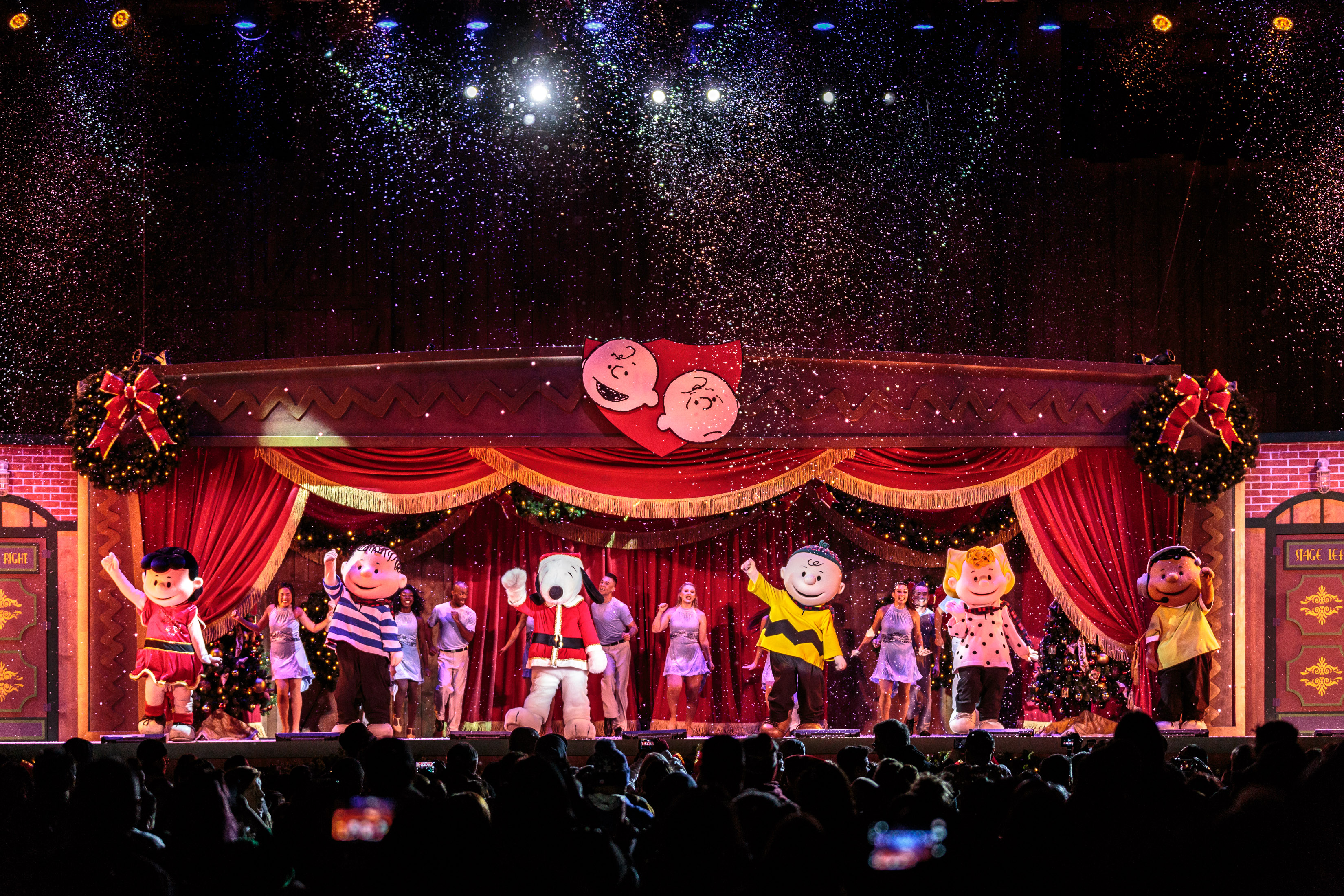 It's the Merriest Christmas Show Ever, Charlie Brown (Courtesy of Knott's)