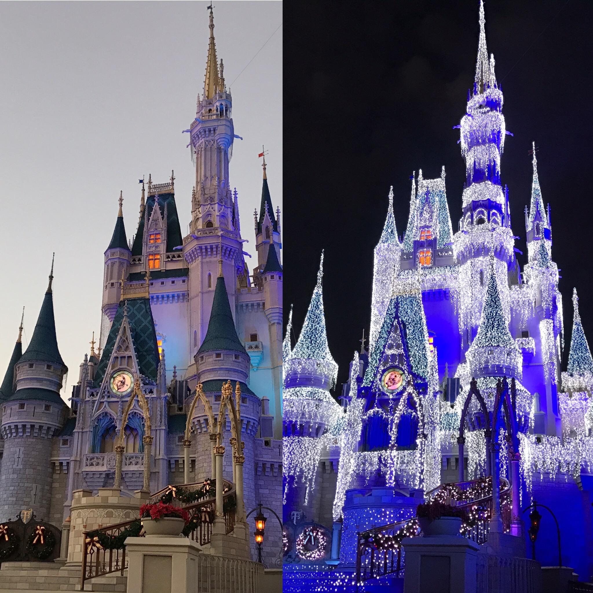Christmas Time at Magic Kingdom