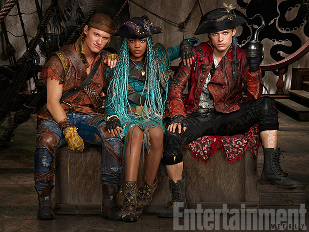 "First Image of New ""Descendants 2"" Villains Offspring Debuts"