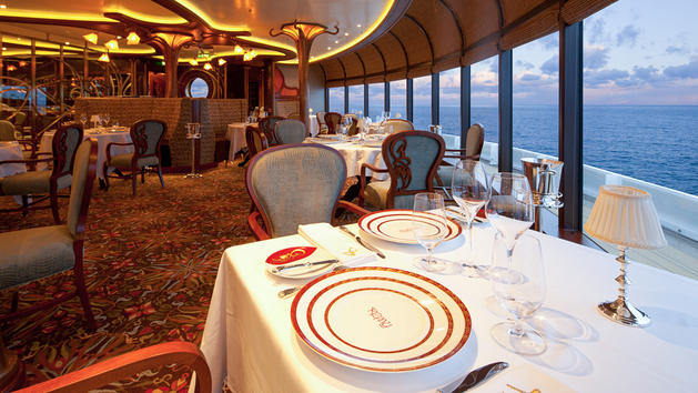 Remy restaurants aboard disney cruise line to raise dining for High end cruise ships