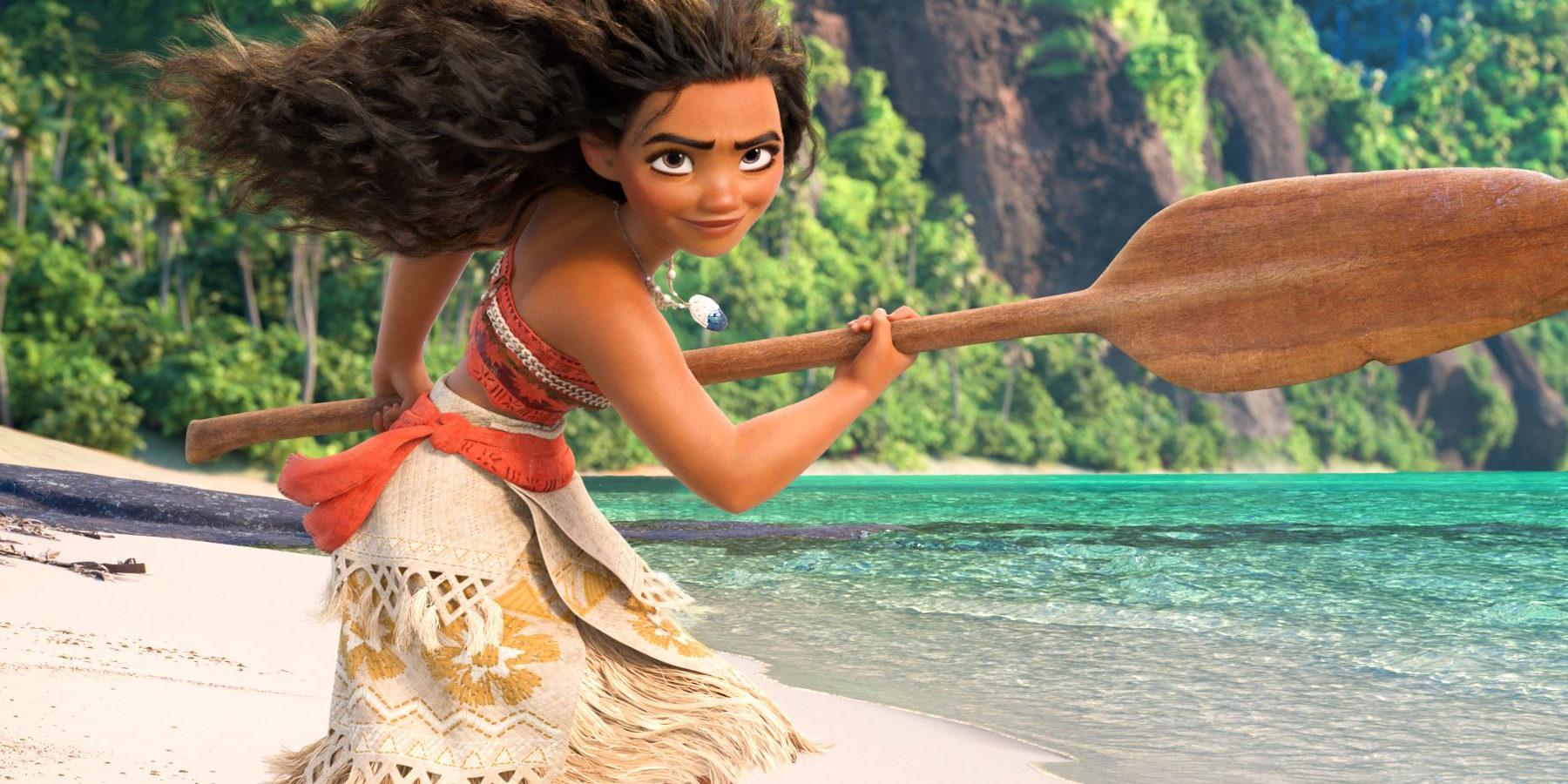 """Disney's """"Moana"""" is A Box-Office Action Hero"""