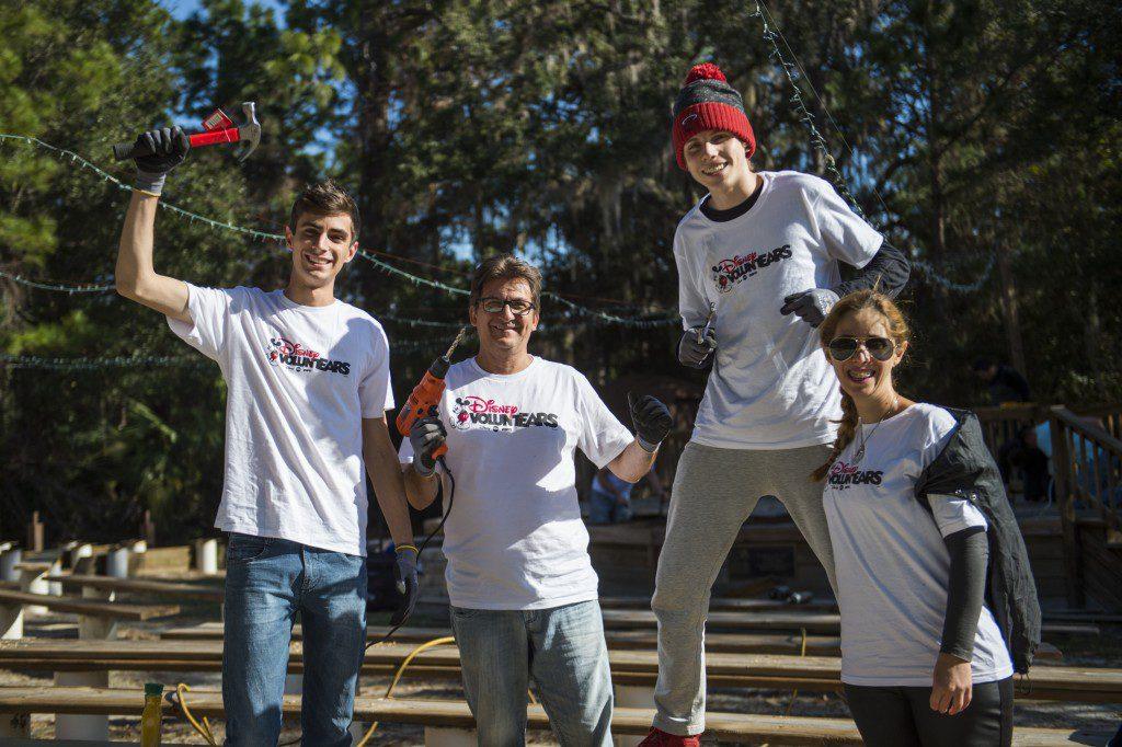 Disney VoluntEARs Revitalize Camp Boggy Creek