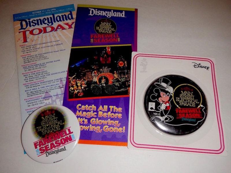 Looking Back at the Souvenirs of the Main Street Electrical Parade's 1996 Glowing Away Year