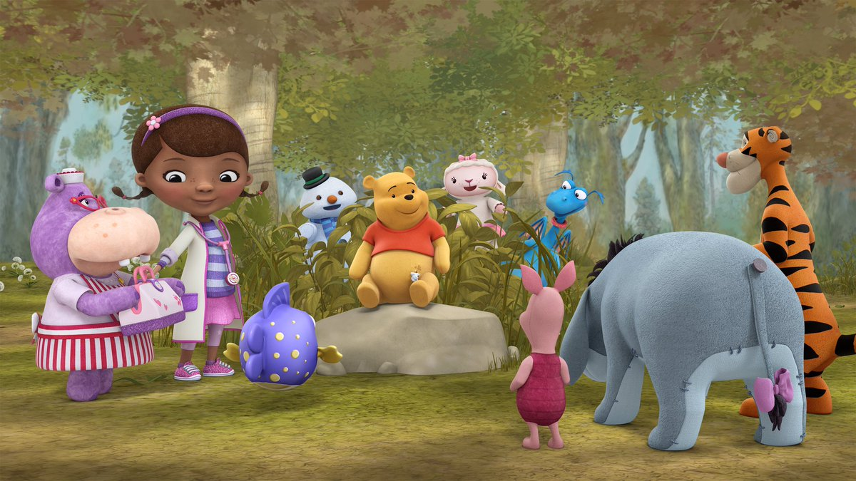 Winnie the Pooh and Friends to Check-In with Doc McStuffins