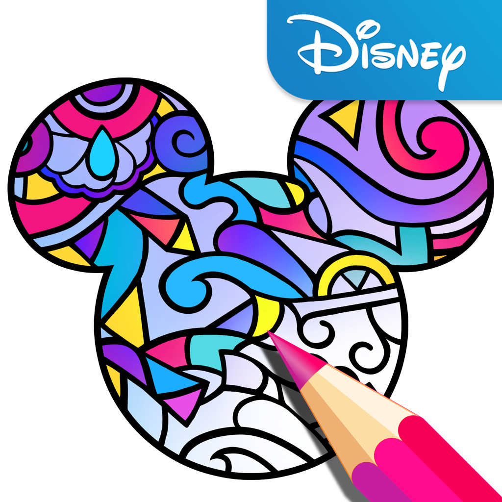 Color By Disney App Brings Adult Coloring Book Trend To Mobile