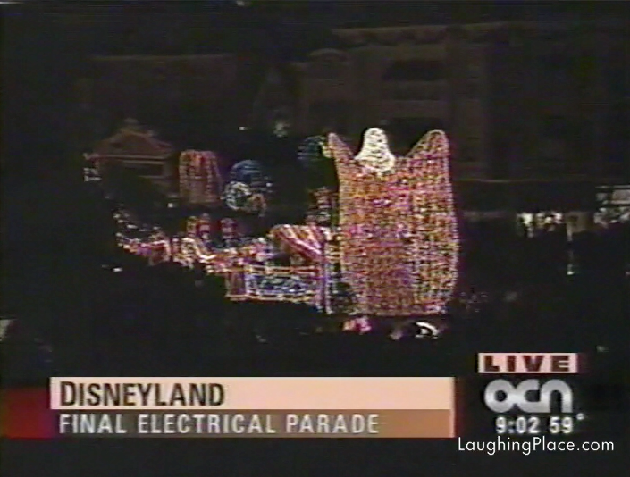 """Watch: The """"Final"""" Main Street Electrical Parade in 1996"""