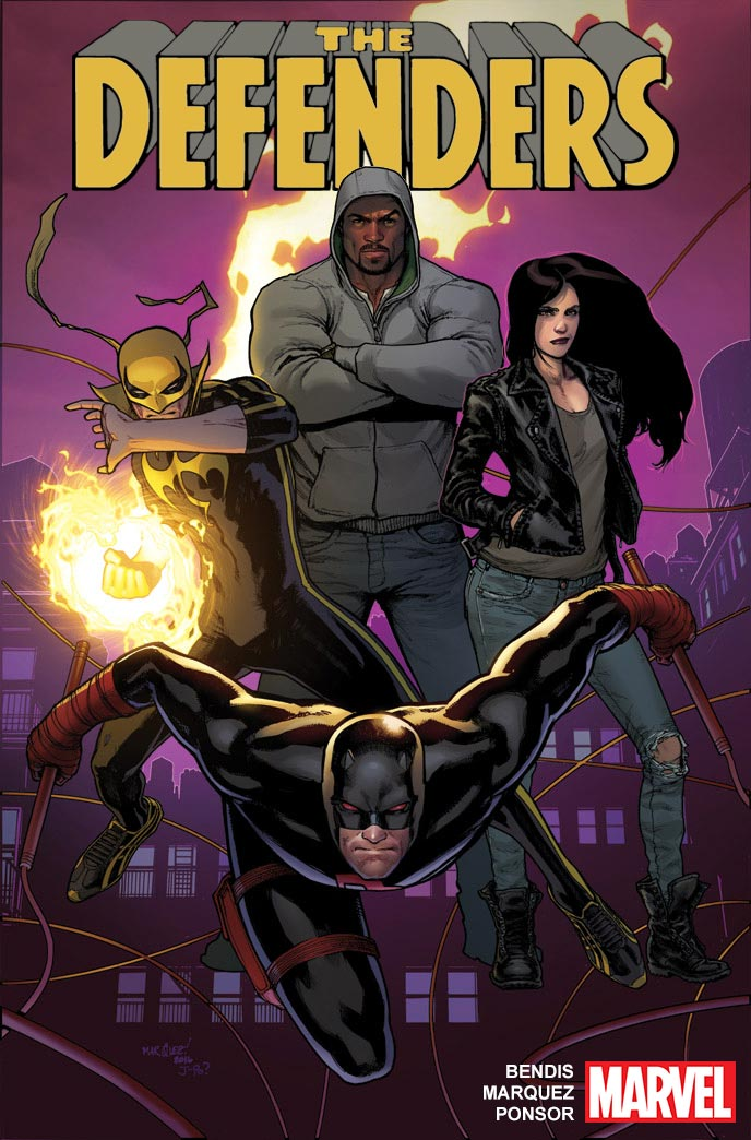 Marvel Launches New Defenders Series Ahead of TV Debut