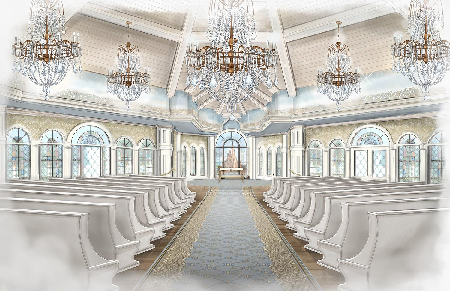 Disney Preview Video Of The Reimagined Wedding Pavilion At Walt World