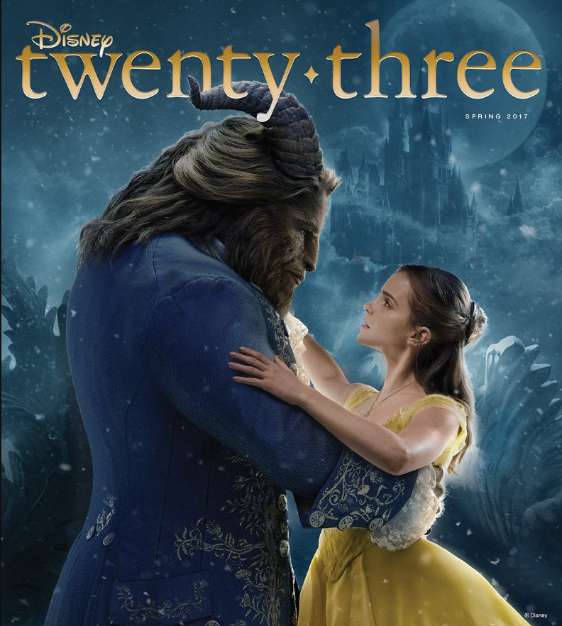 Next Issue of D23 Magazine Features Beauty and the Beast on Cover