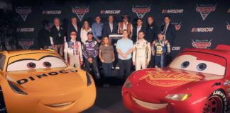 Cars and NASCAR Stars Unite