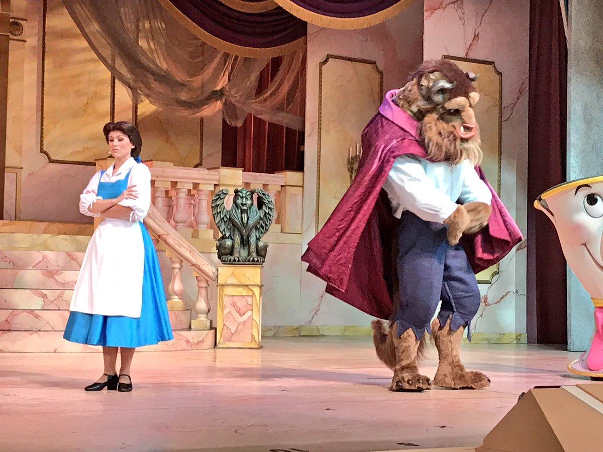 Beauty and the Beast Gets New-Preshow and Costume
