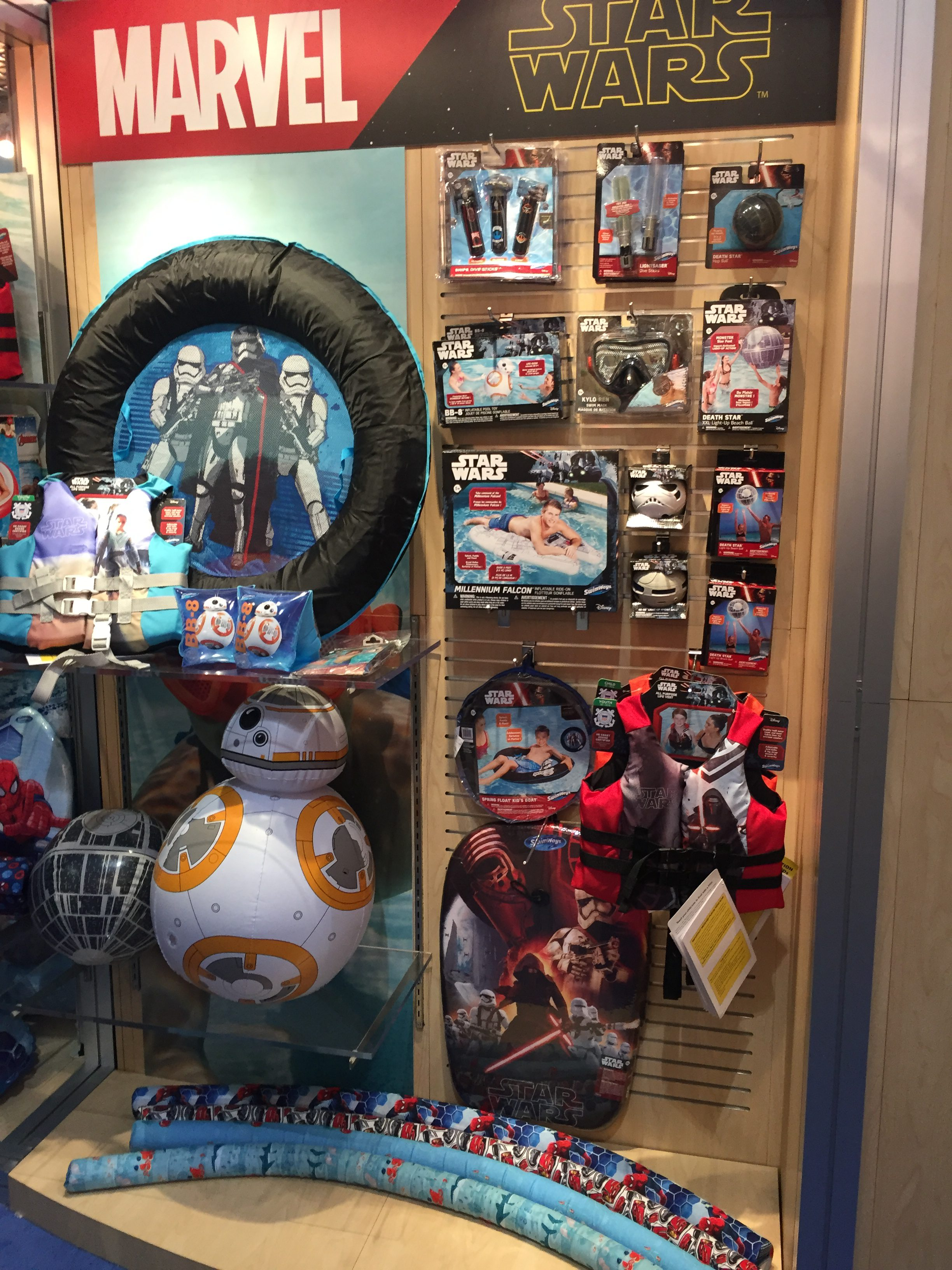 Toy Fair 2017 Swimways Star Wars Marvel Finding Dory Cars 3